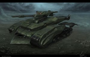 Cobra Tank final by MichalKus