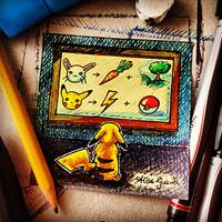 Pokemon: Learn the Ways of the World, Pikachu by alisagirard