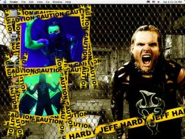 Jeff Hardy wallpapah by SilverWolf117