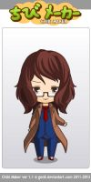 ChibiMaker Me dressed as the 10th Doctor (request) by tigerclaw64