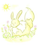 Shining bright like a.....eevee:) by jrodri21