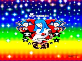 Color Me Rainbow...or TokiDoki by h8teme2day