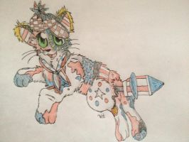 Firework/Forth of July adoptable (sold) by SecretsOfTheShadows