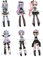 Pastel Adoptables ::CLOSED:: by KimmyPeaches
