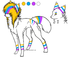 Purple Blue and Orange Adopt .:CLOSED:. by love-the-adopts