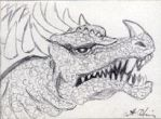 Anguirus by monsterartist