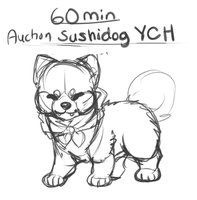 60 min Auction - YCH [SUCHIDOG ONLY] by dexikon