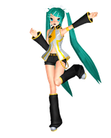 MMD Miku Rin-chan Lover Squad No. 1 by megpoid625