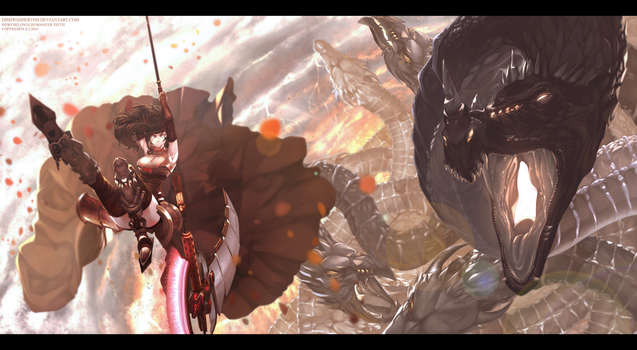RWBY-Future : Battle by dishwasher1910