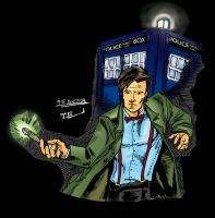 The Doctor Is In Coloured by TEhopefulcomicartist