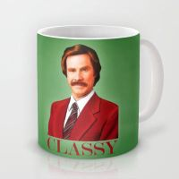 The Legend of Ron Burgundy. by J-MEDBURY