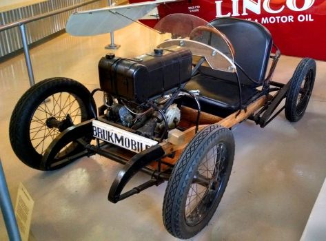 Vintage Indian Motorcycle Go Kart Part 3 by Caveman1a
