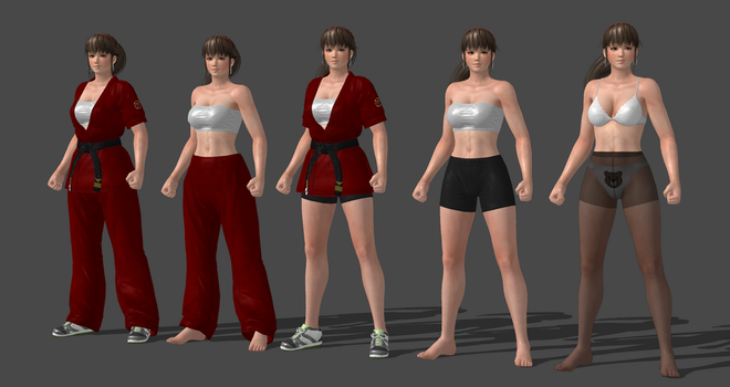 Hitomi MMA Completed by bstylez