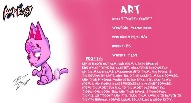 Art the Crystal Beast Cat by DogSmilez