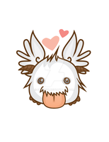 Winged Poro by sylview