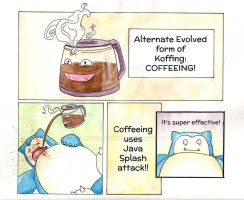 Coffeeing! by Katie-Joy