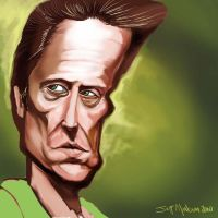 Christopher Walken Caricature by Kalimon789