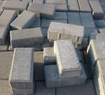 Slate Gray Paving Brick Blocks by FantasyStock
