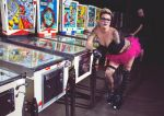 derby girl in the pinball hall of fame by GirlOfGreys