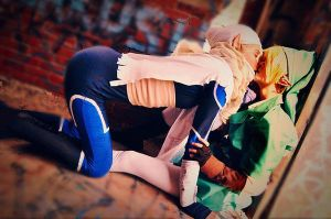 Sheik x Link by Sasurealian