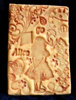 Polymer Clay ACEO 3 Alice by ValerianaSolaris