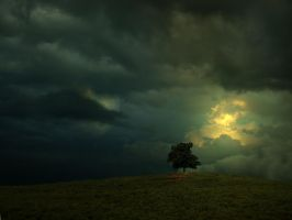 Passing Storm by dtrphotos