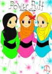 Powerpuff Muslimah by Laily95