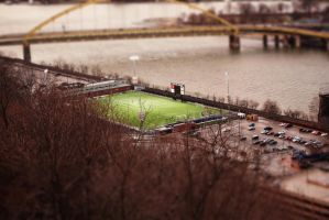 Pittsburgh, PA in Miniature 1 by MillyT