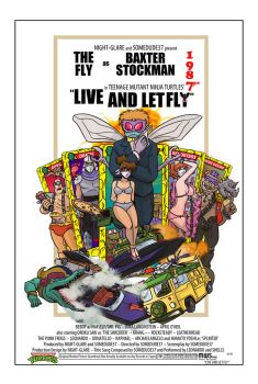 TMNT Live and let fly Poster by night-glare