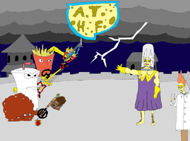 ATHF - KH: Final Battle Color by MetalShadowOverlord