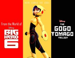 The Epic GoGo Tomago Trilogy Billboard Design by timbox129