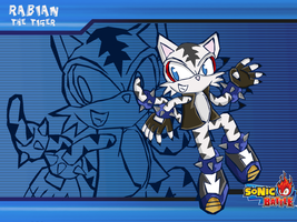 :gift:WP Rabian sonic battle by Ferni21
