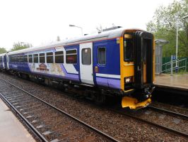 NT 155 344 at Lostock Hall by BoomSonic514
