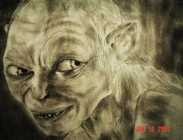 Gollum by Nycteus