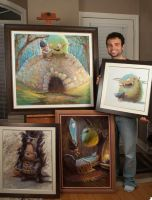 Original Oil Paintings for Sale by MarcoBucci