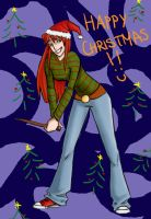 Christmas Ginny by french-teapot