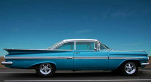 Blue Chevy by Rikko40
