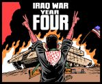 4th anniversary of Iraq War C by Latuff2