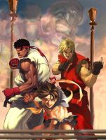 street fighter forever by LazyLacy