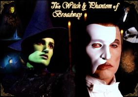 Witch and Phantom of Broadway by SpikeBad