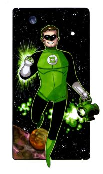 MiniCharacters - Green Lantern by NicolasRGiacondino