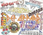 Classic Bands Collage by MackCat