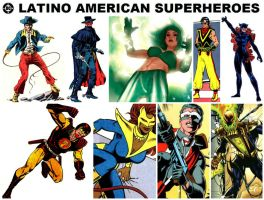 DC Latino American Superheroes by StevenEly