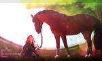 .:||A Girl And Her Horse||:. by Fox-Skin