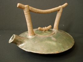 Bamboo Teapot by jewelergurl