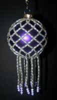 Purple Pearl Ornament Cover by HippieKender