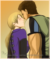 RE5_ChrisJill_Que Me Quedes Tu by Anko-sensei