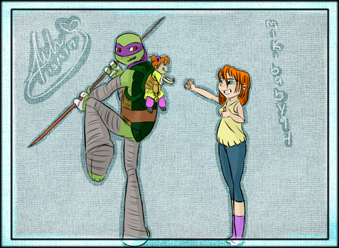 TMNT NEXT GEN: APRIL! by Mikibaby94