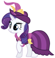 Rarity's Coronation Dress by Bethiebo