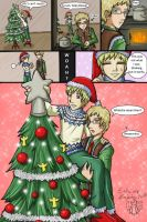APH: Fin and Swe Christmas by Lord-Evell